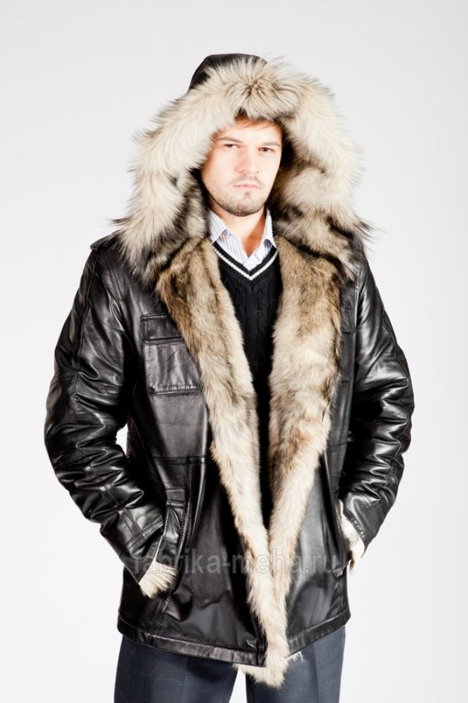 Мужские куртки и шубы из натурального меха