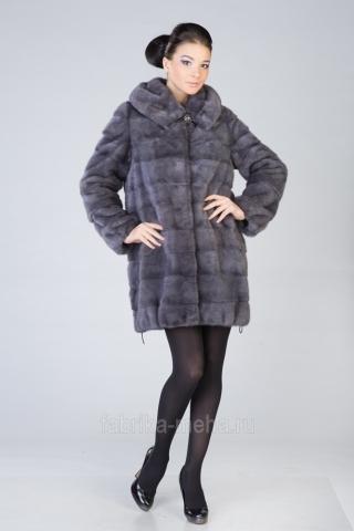 Норковые куртки из тонированного меха по специальной осенней цене