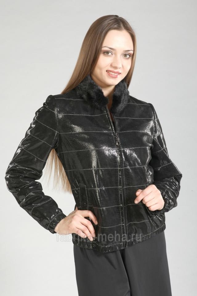 «Фабрика меха» представляет: скидки до 50% на демисезонные кожаные изделия для женщин