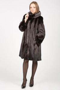 Норковая шуба-свингер: будьте модной!