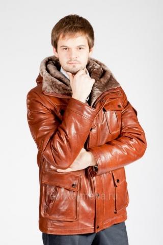 Новое предложение для мужчин – кожаные куртки и дубленки