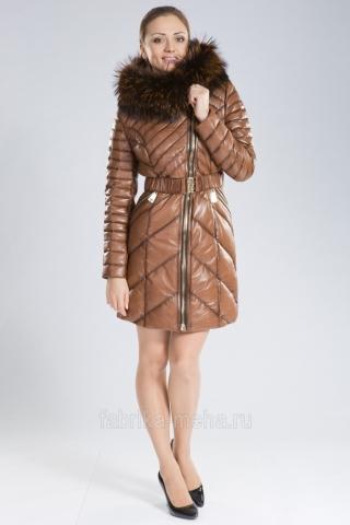 Практичная кожа плюс теплый мех - кожаная куртка от «Фабрики меха»