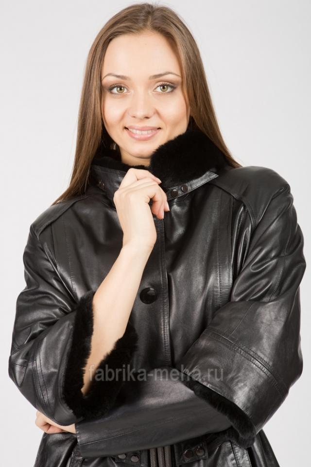Большое поступление женских кожаных демисезонных курток производства Турция