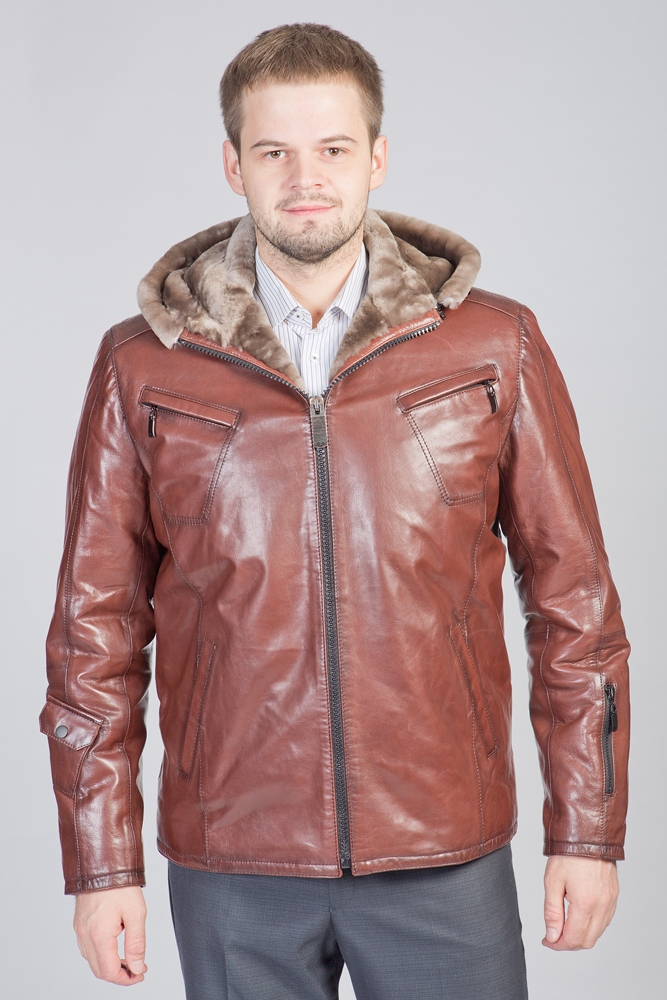 Мужские Кожаные Зимние Куртки Купить В России
